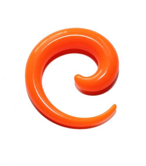Töjspiral Akryl Orange