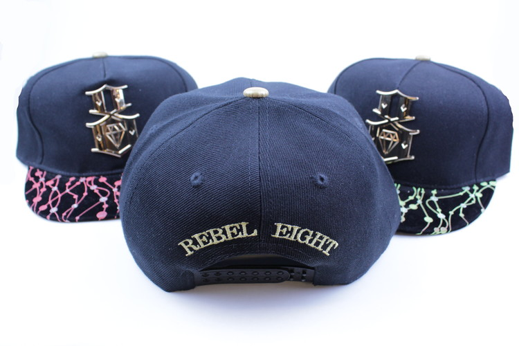 Keps Rebel eight Röd