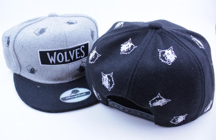 Keps Wolves Svart