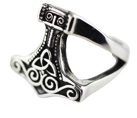 Ring Thors hammer medium