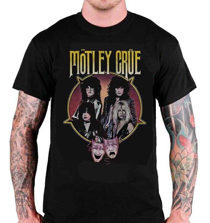 Motley Crue Theatre of pain PentagramT-Shirt