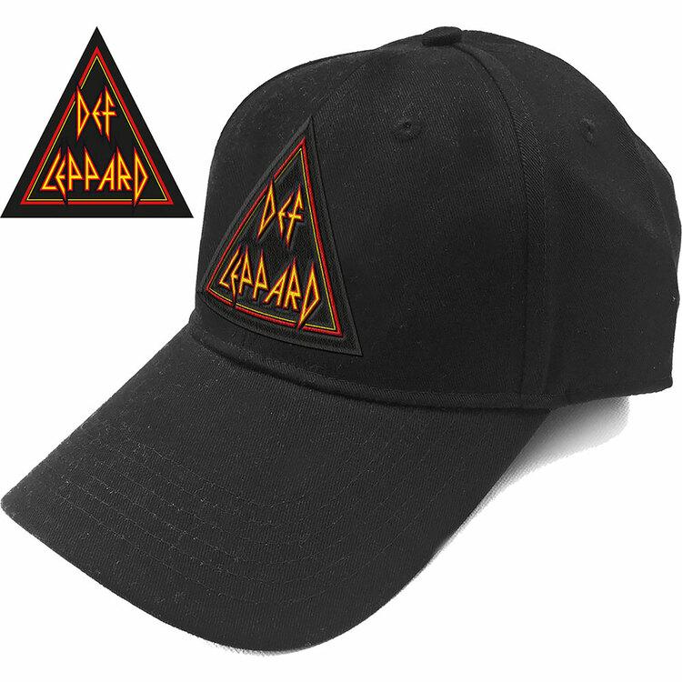Def Leppard Unisex Baseball Cap: Tri Logo