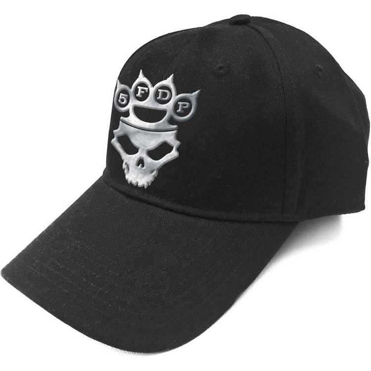 Five Finger Death Punch Unisex Baseball Cap: Logo (Sonic Silver)