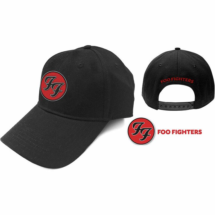 Foo Fighters Unisex Baseball Cap: FF Logo