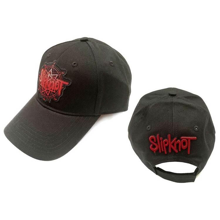 Slipknot Unisex Baseball Cap: Logo (Back Logo)