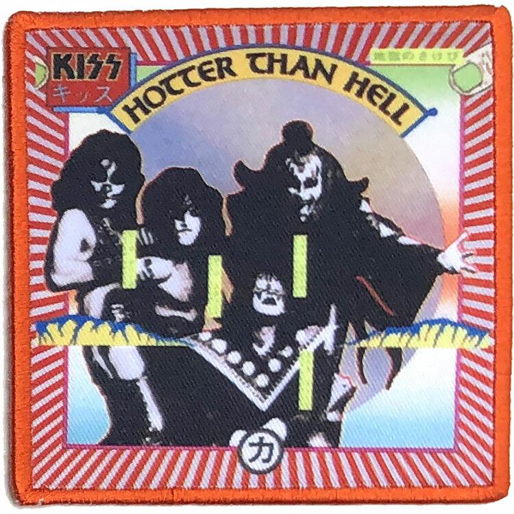 KISS Standard Patch: Hotter Than Hell