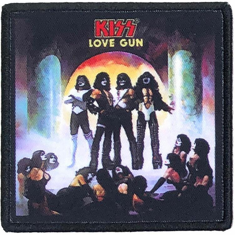KISS Standard Patch: Love Gun