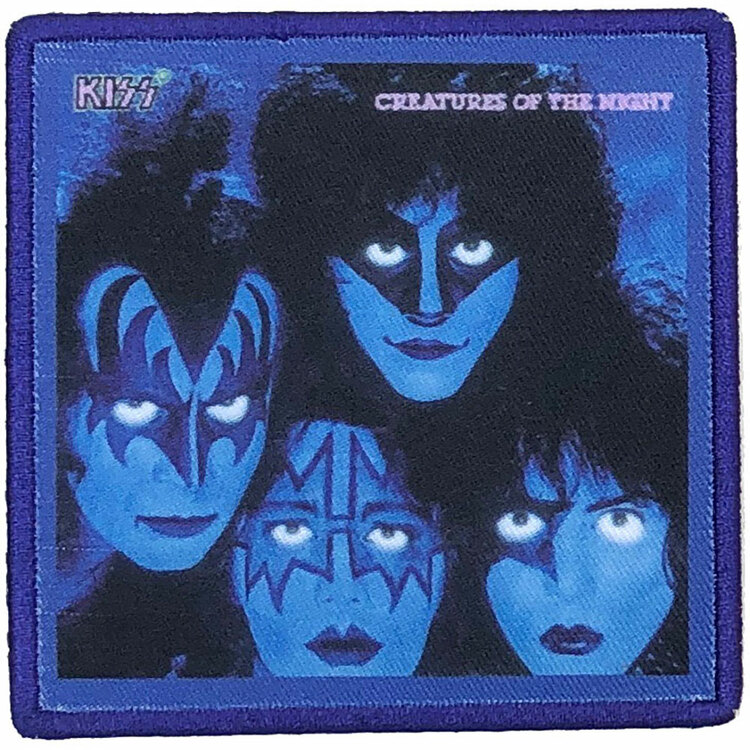KISS Standard Patch: Creatures Of The Night