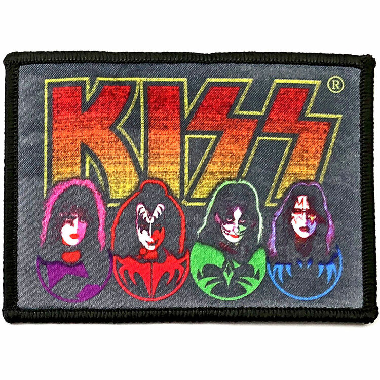 KISS Standard Patch: Faces & Icons