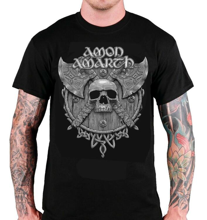 Amon amarth skull T-Shirt