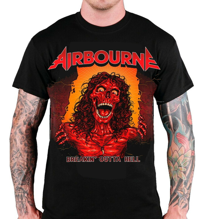 Airbourne Breakin outta hell T-Shirt