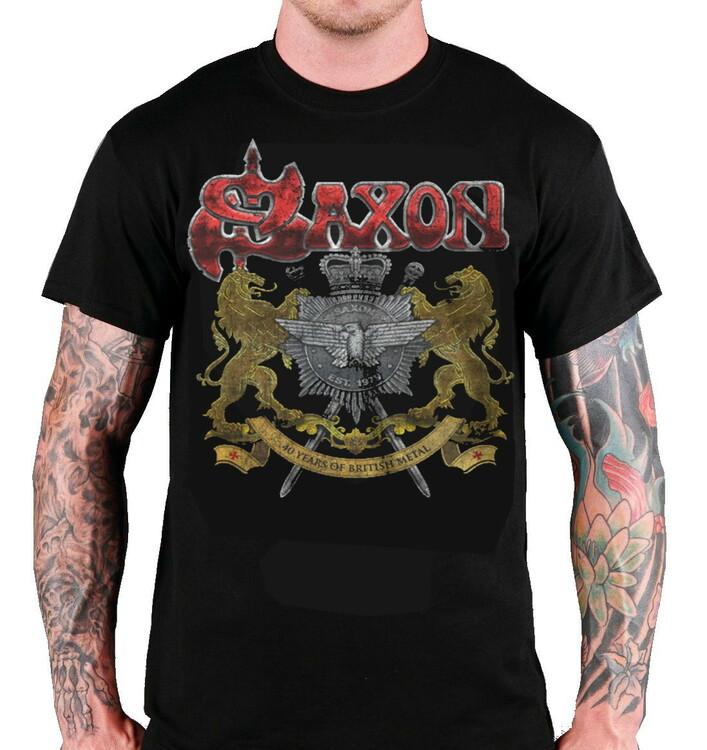 Saxon  40 years T-Shirt