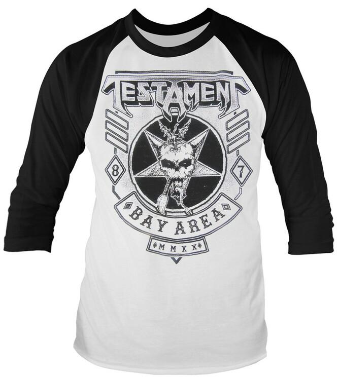 Testament Bay area 87 Raglan T-Shirt