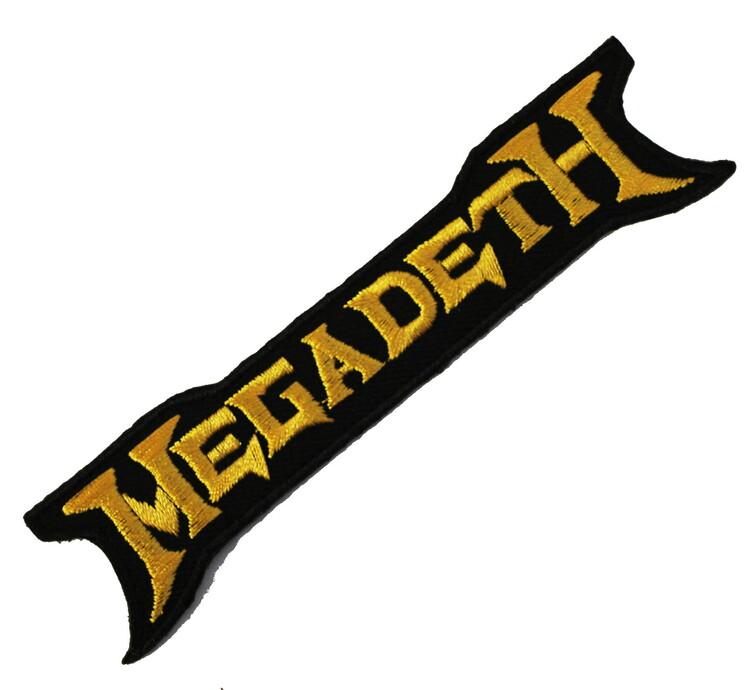 Megadeath yellow logo