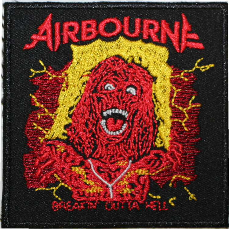 Airbourne Breakin outta hell patch