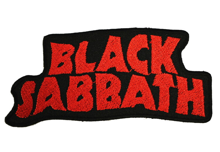 Black sabbath red logo