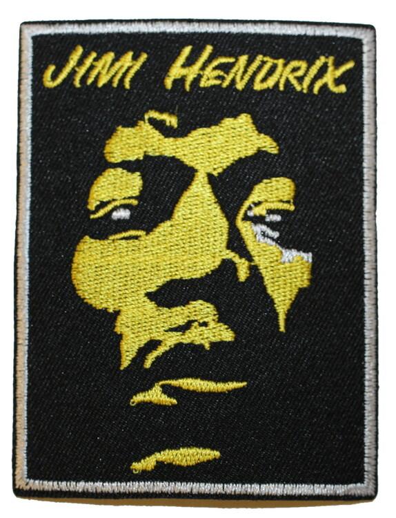 Jimi Hendrix yellow face