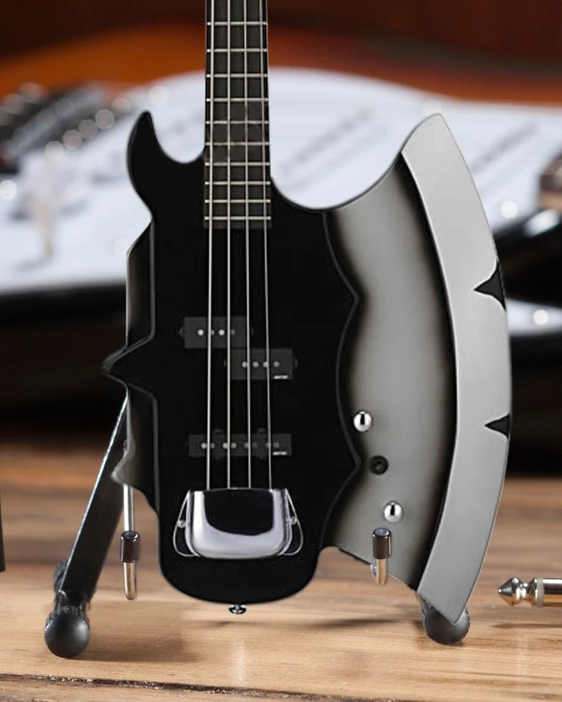KISS Gene Simmons Signature AXE Bass Mini Guitar Model