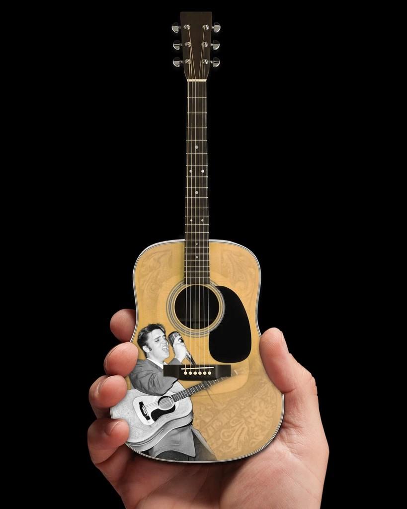 Elvis Presley 55' Tribute Acoustic Mini Guitar Model