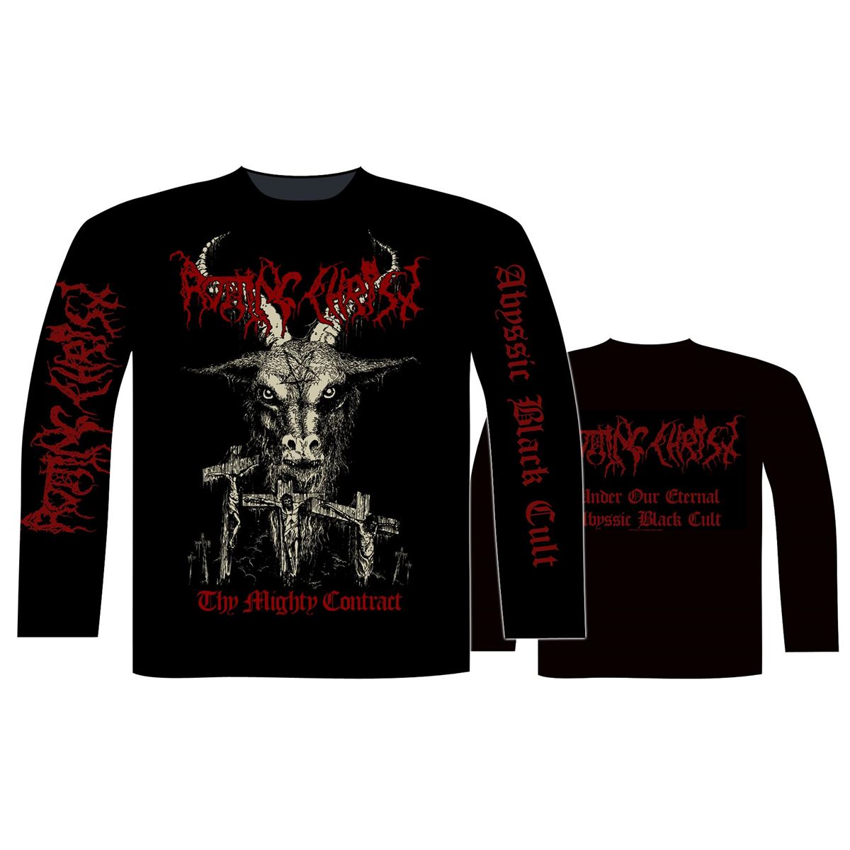 Rotting christ THY MIGHTY CONTRACT  Long sleeveT-Shirt