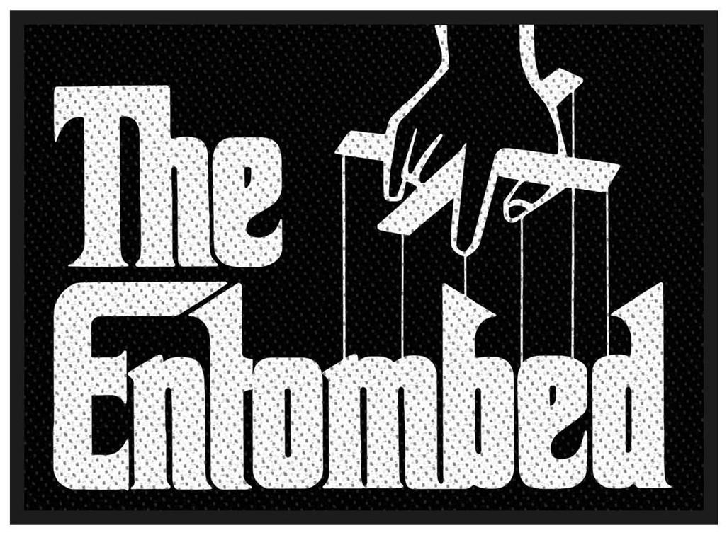 ENTOMBED - Godfather logo Patch