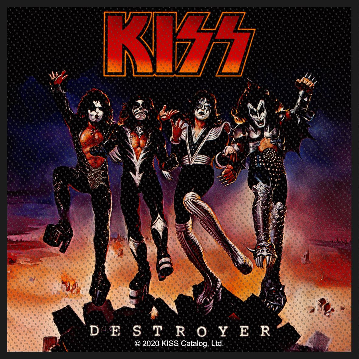 KISS - Destroyer patch