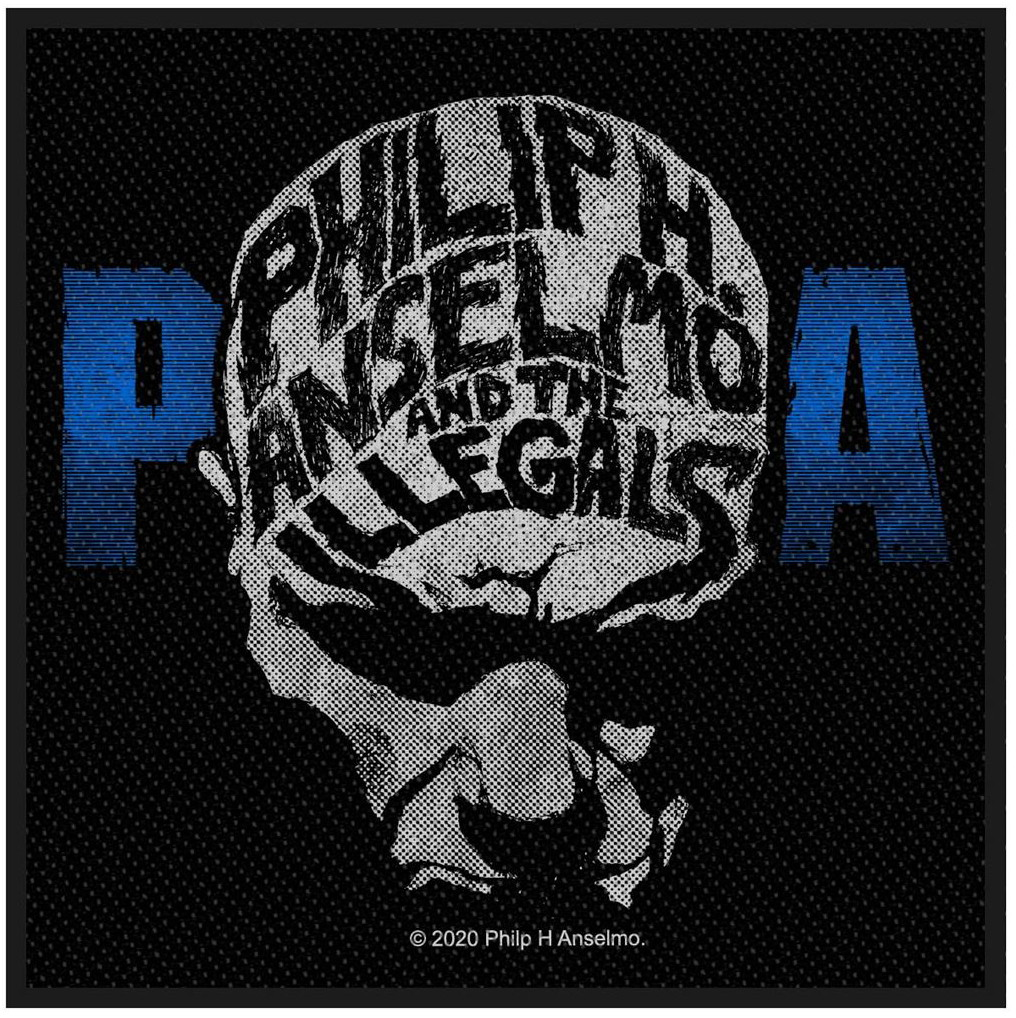 PHIL ANSELMO & THE ILLEGALS - FACE patch