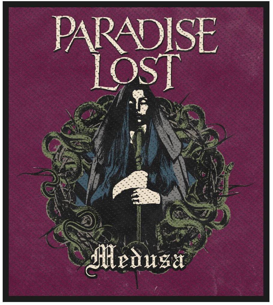 PARADISE LOST - MEDUSA patch