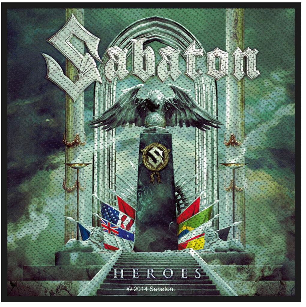 SABATON - HEROES patch
