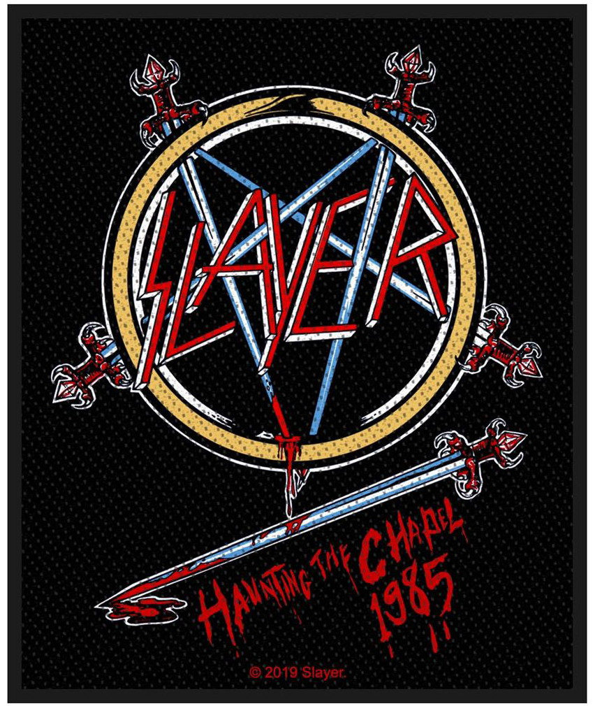 SLAYER - HAUNTING THE CHAPEL patch