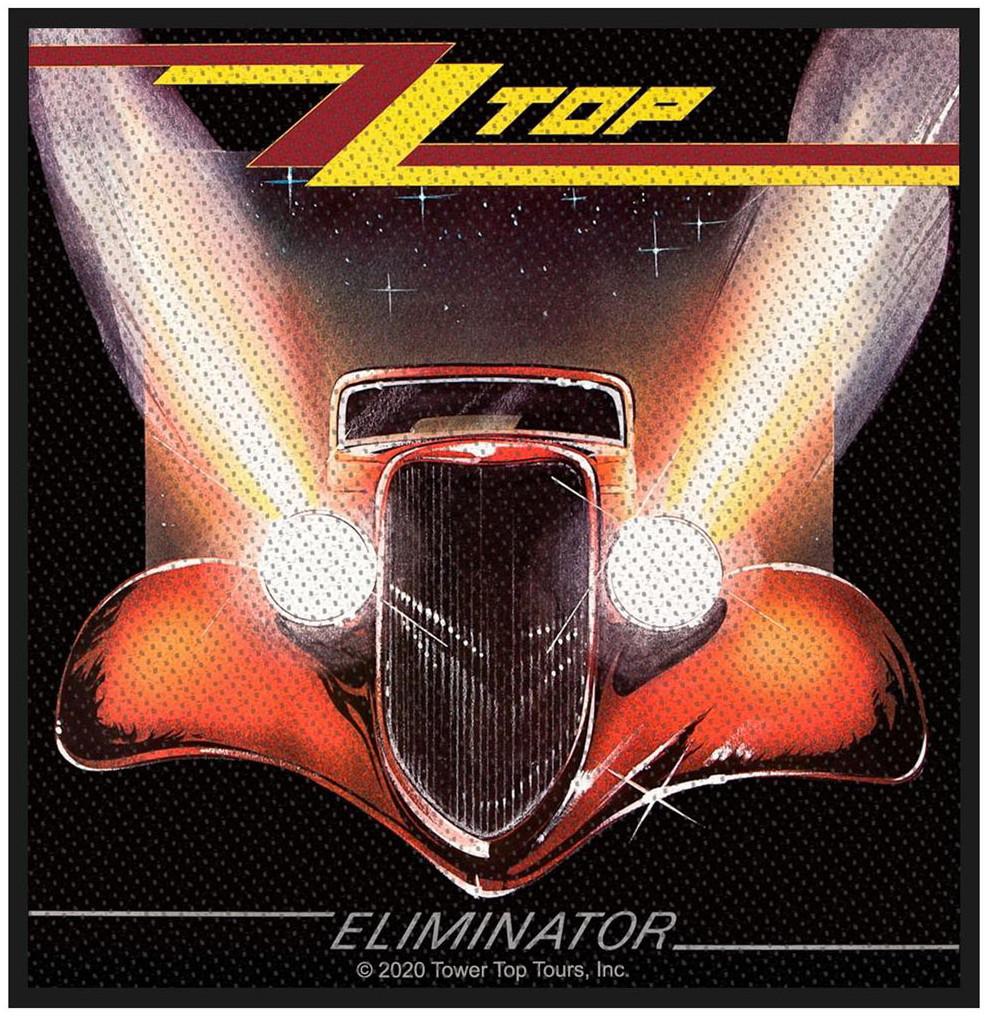 ZZ TOP - ELIMINATOR patch