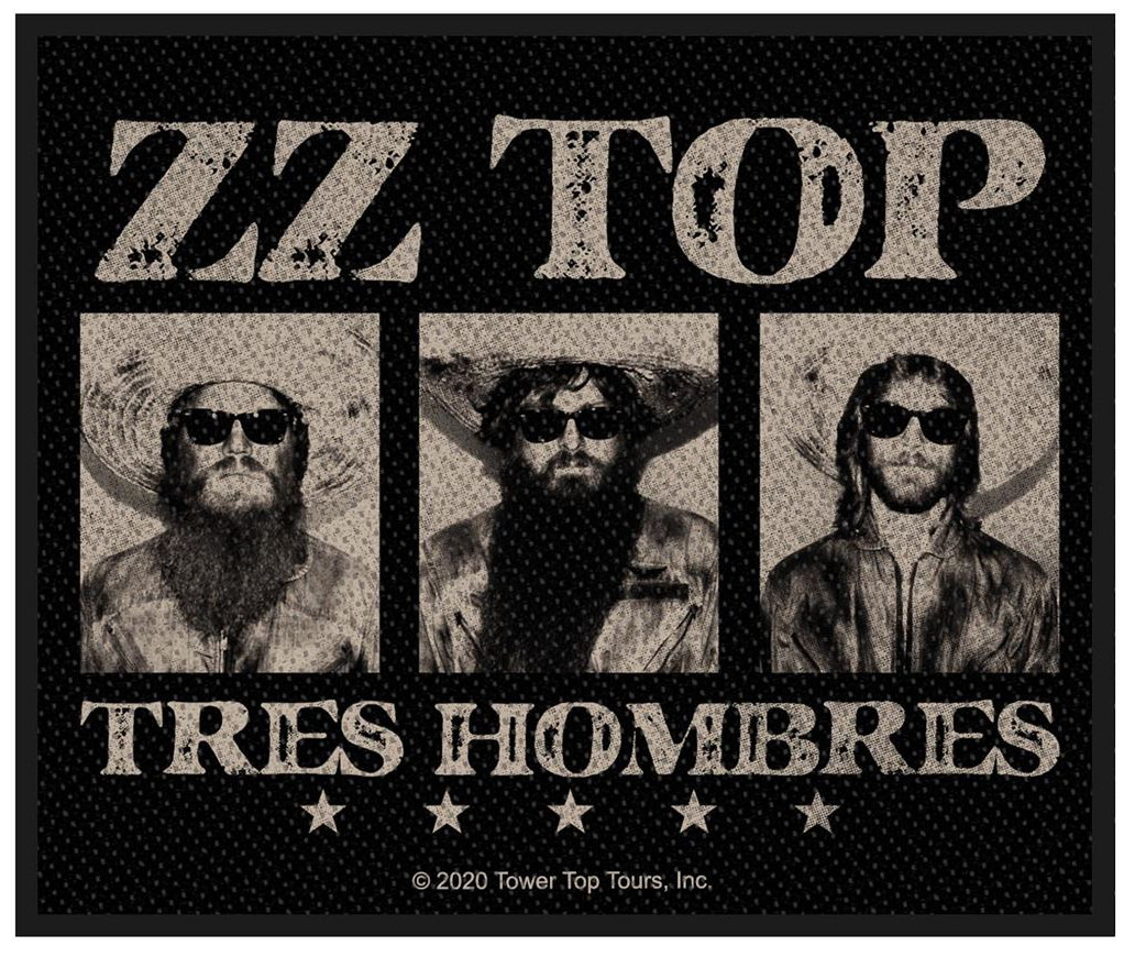 ZZ TOP - TRES HOMBRES patch