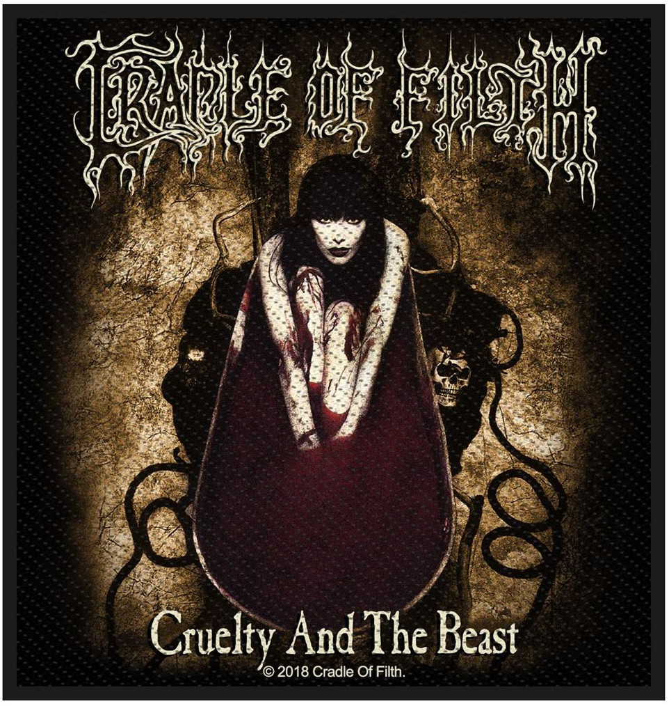 CRADLE OF FILTH - CRUELTY AND THE BEAST patch