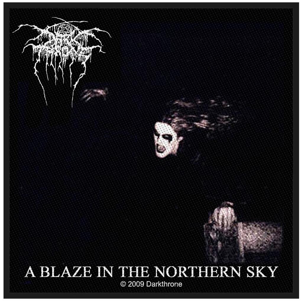 DARKTHRONE - A BLAZE IN THE NORTHERN SKY patch