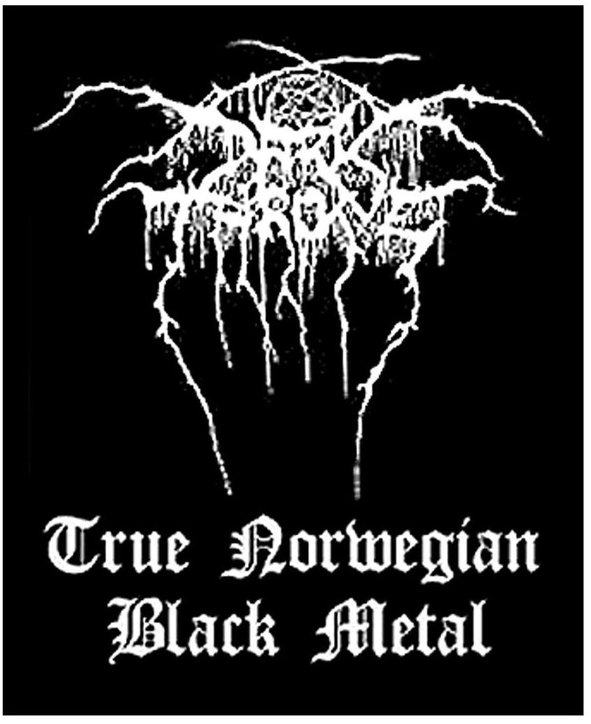 DARKTHRONE - TRUE NORWEIGAN BLACK METAL patch
