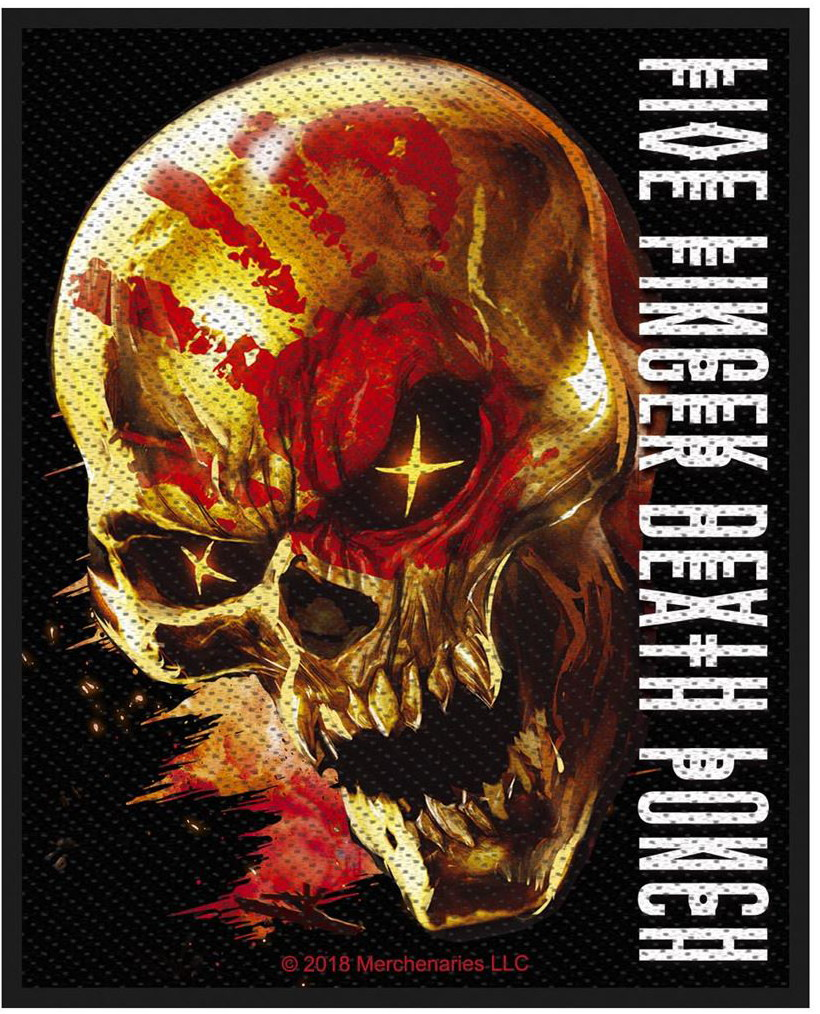 FIVE FINGER DEATH PUNCH - AND JUSTICE FOR NONE patch