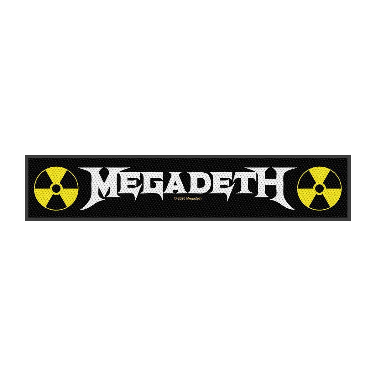 MEGADETH - LOGO strip patch
