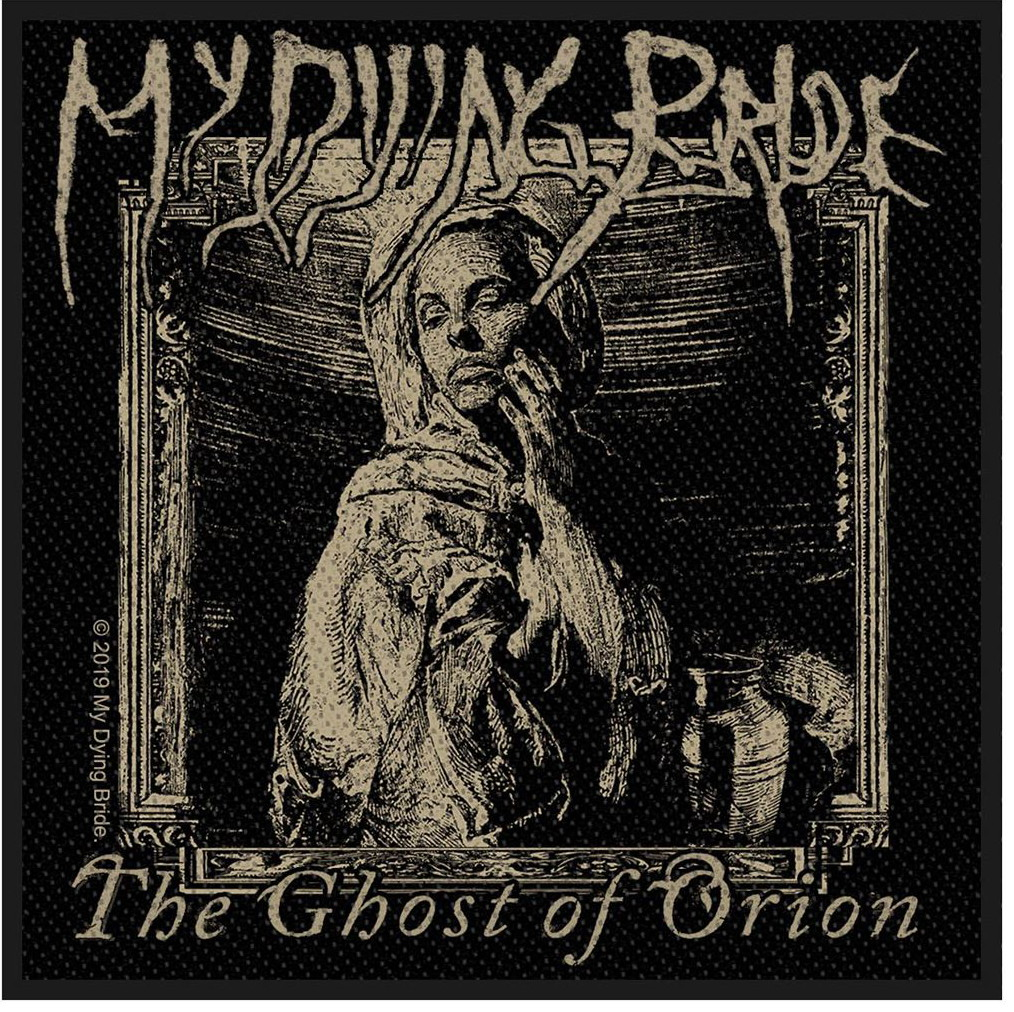 MY DYING BRIDE - THE GHOST OF ORION WOODCUT  patch