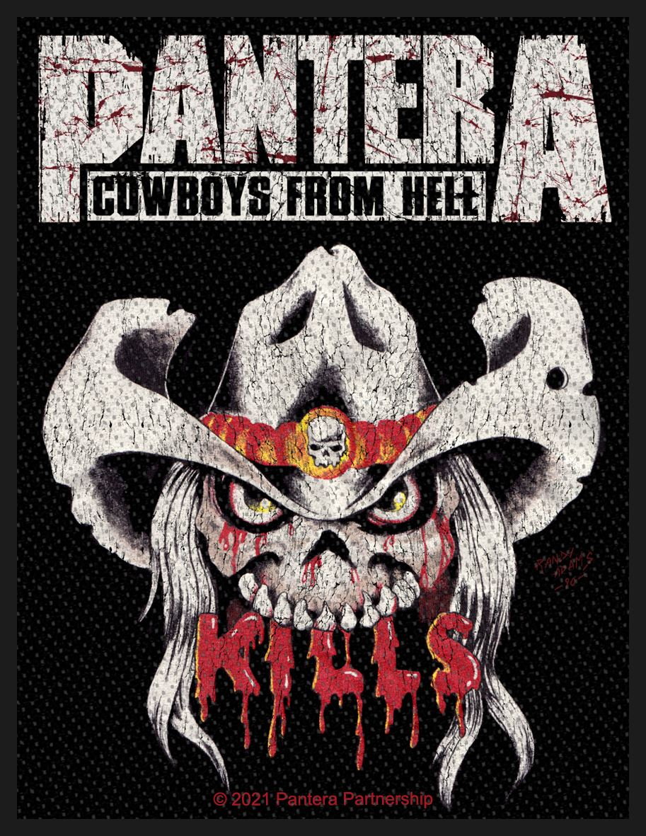 PANTERA - KILLS patch