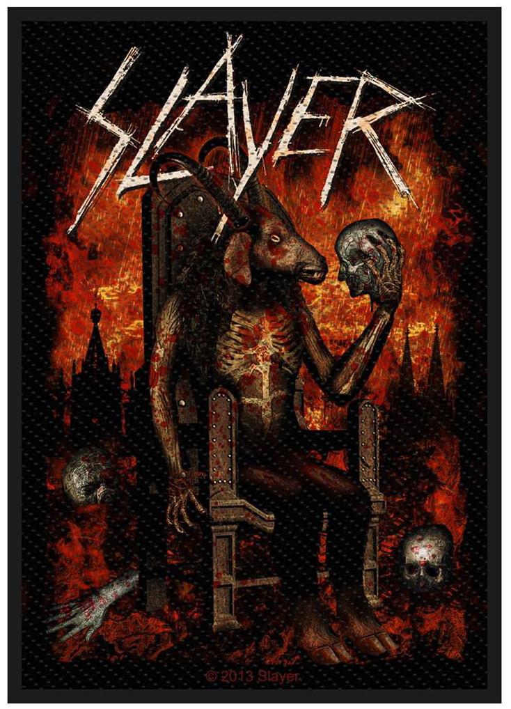 SLAYER - DEVIL ON THRONE patch