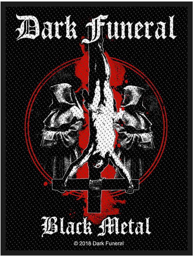 DARK FUNERAL - BLACK METAL patch
