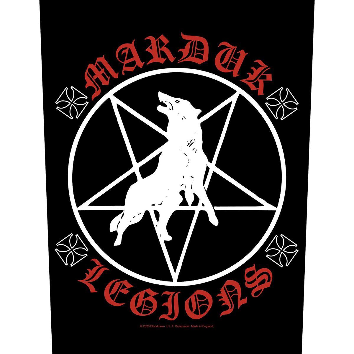 MARDUK - MARDUK LEGIONS Back Patch