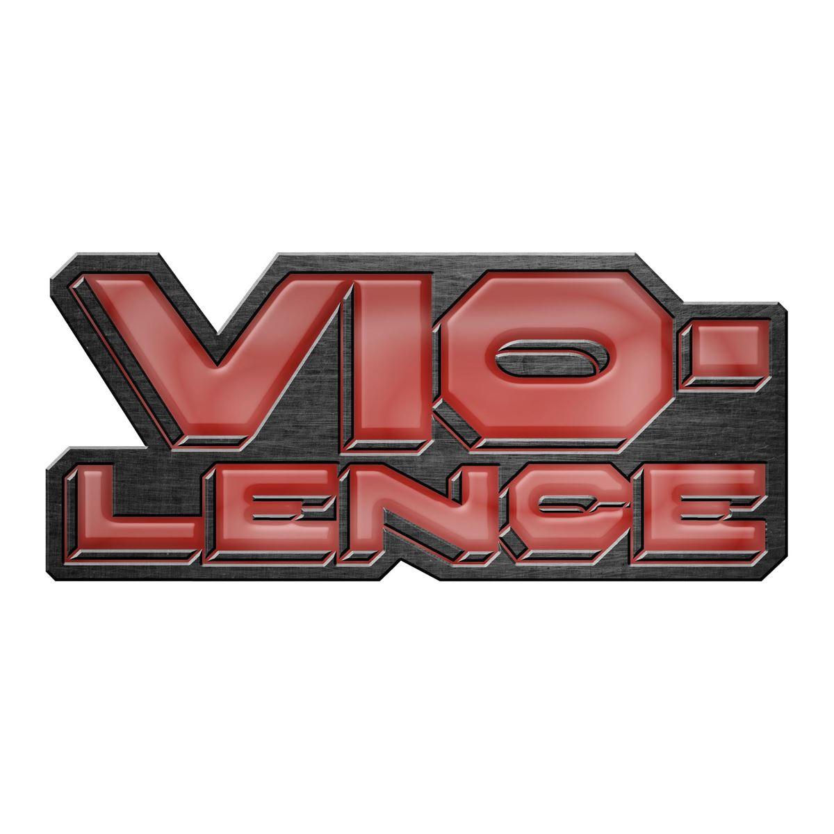 VIO-LENCE - LOGO Metal Pin