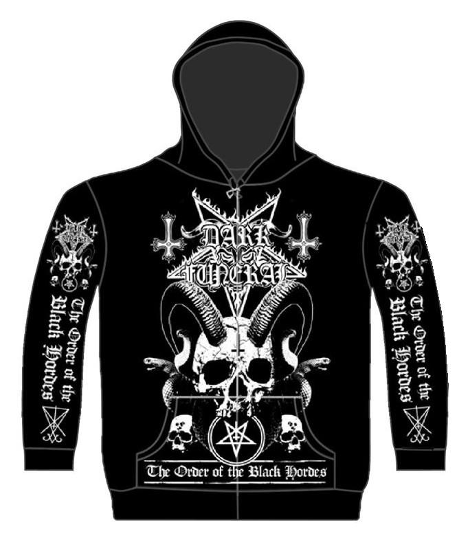 DARK FUNERAL - ORDER OF THE BLACK HORDES Zip hoodie