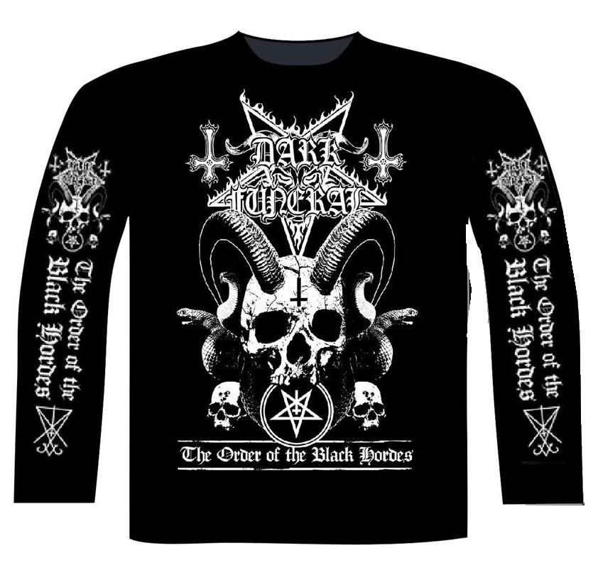DARK FUNERAL - ORDER OF THE BLACK HORDES Long sleeve T-Shirt