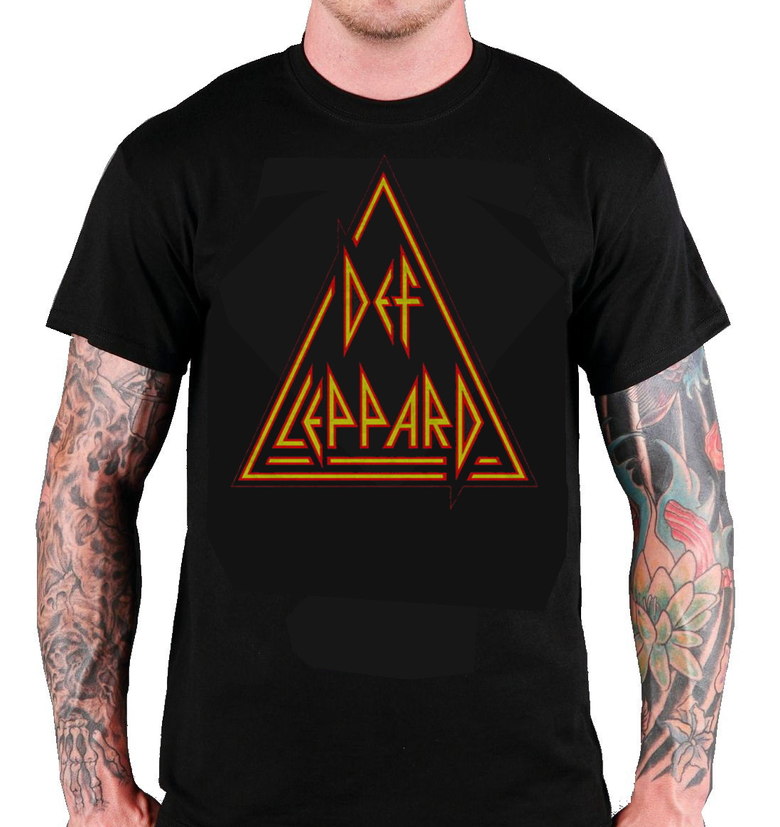 Def Leppard T-Shirt: Classic Triangle