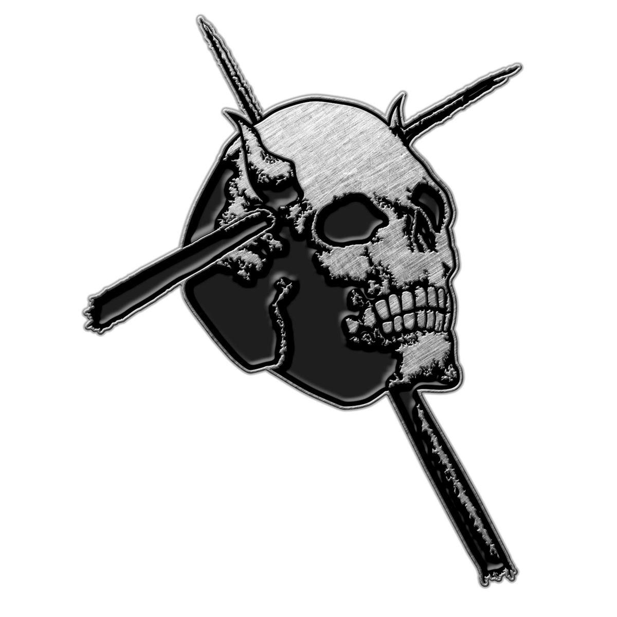 CANDLEMASS -SKULL  Metal Pin