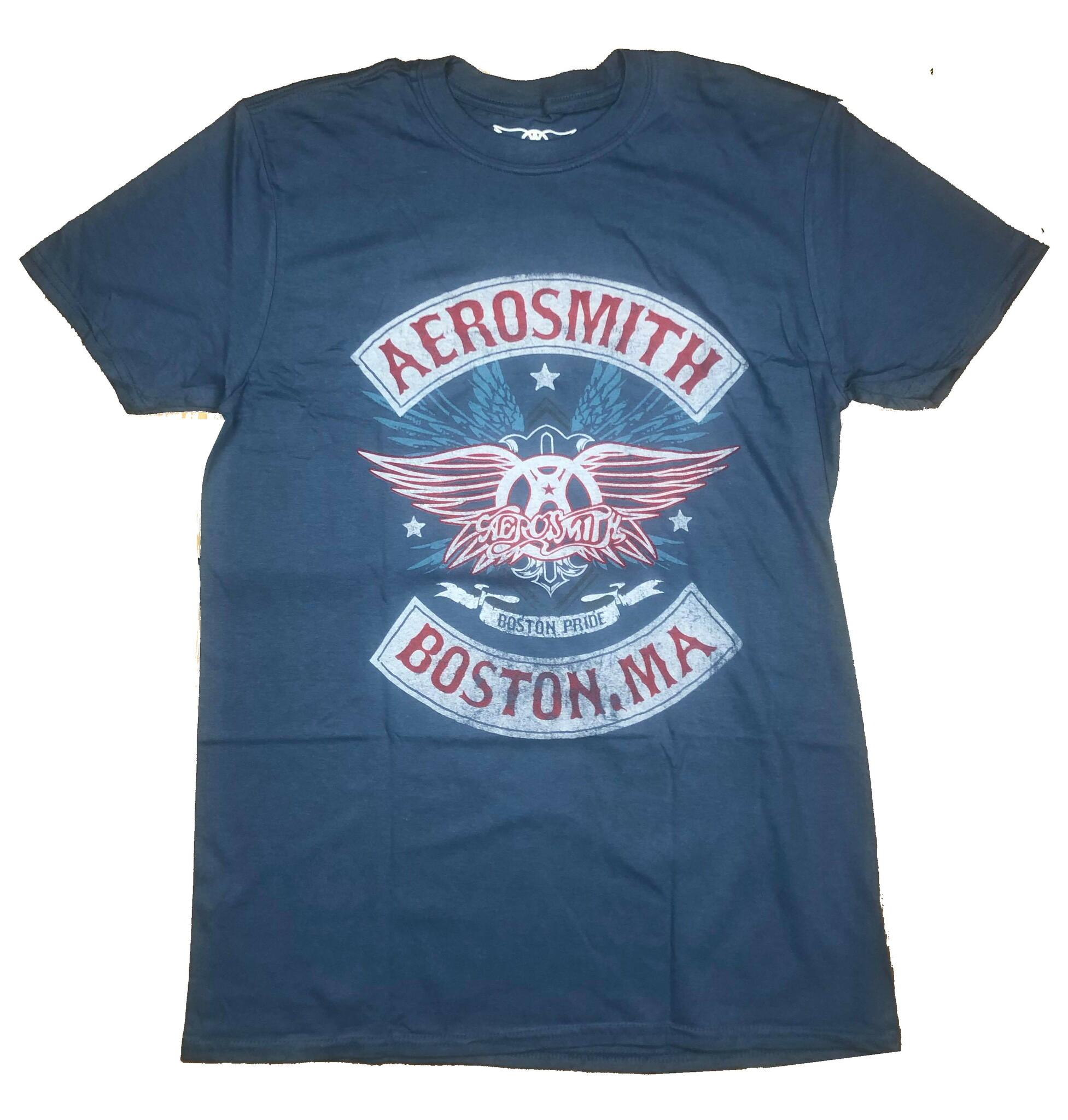 Aerosmith T-Shirt Boston Pride