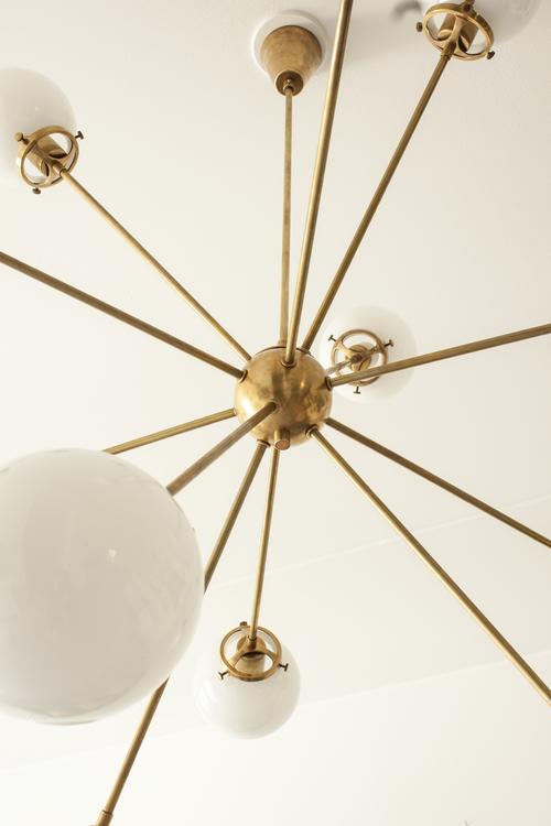 Stor Sputnik 12 Mässing
