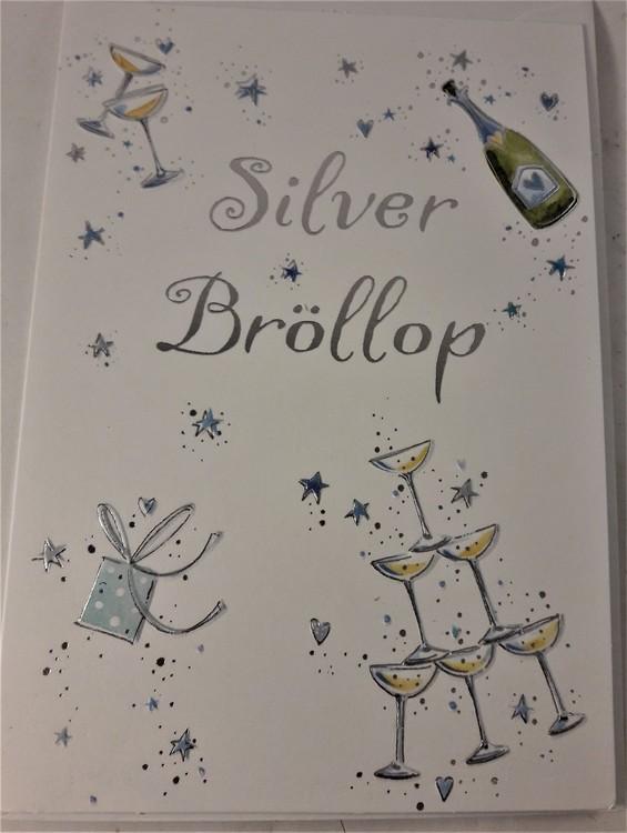 "Kort, ""Silverbröllop"""